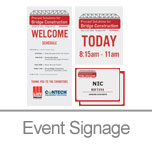 Event Signage & Name Tags