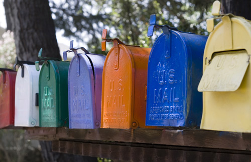 multiple mail boxes receiving eddm
